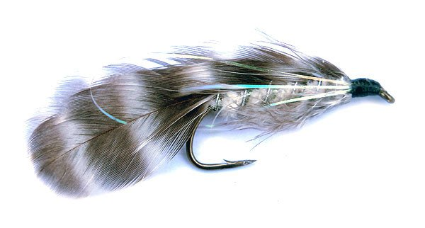 The Barred Rock is an excellent sea-run trout lure especially in the smaller sizes when the river is clear.