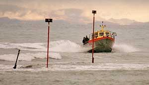 Motunau fishing boat.