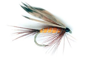 Orange and Partridge wet fly.
