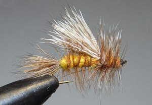 Randall Kauffman Stimulator fly tied by John Hey