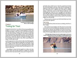 Trolling & Spin Fishing for Trout - sample pages 3