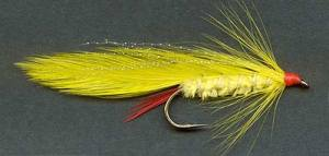 Yellow Lady Trout Fishing Lure.