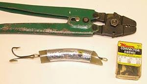 home-made fishing lures - hot melt glue lure | fishingmag.co.nz, Hard Baits