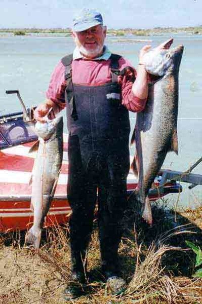 Keith Reinke is one of the best salmon anglers around and a Waitaki River stalwart.