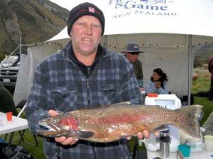 This big rainbow jack fish was caught from Lake Selfe.