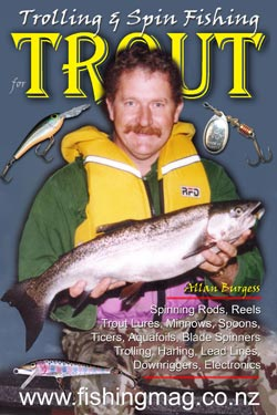 Trolling & Spin Fishing for Trout by Allan Burgess