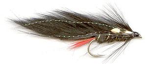 Black rabbit trout lure