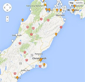 This is what part of the map looks like on the Land Information New Zealand website.