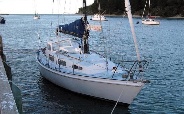 Yachts in Waimea Inlet.