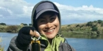 Perch weighing 1.8kg from the Oreti River near Invercargill.