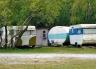 More old caravans at the Harper end of Lake Coleridge back in the 1990s.