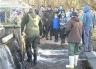 Salmon release at Montrose Hatchery.
