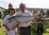 Another big Otago Harbour salmon.