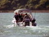 Salmon fishing on Otago Harbour.