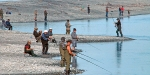 Rakaia River salmon anglers.