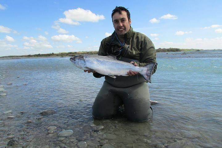 Rakaia river salmon fishing tips access 71 photos maps for Salmon fishing colorado