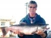 One of only six salmon weighed in on day three. There were 14 on day 1 and 21 salmon caught on day 2. 2009.