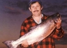 A big fish from McIntoshes Rocks, Waimakariri River.