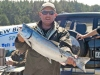 The New Brighton Sports Waimakariri River Salmon Fishing Contest was a great success despite relatively few salmon being weighed in during the event.