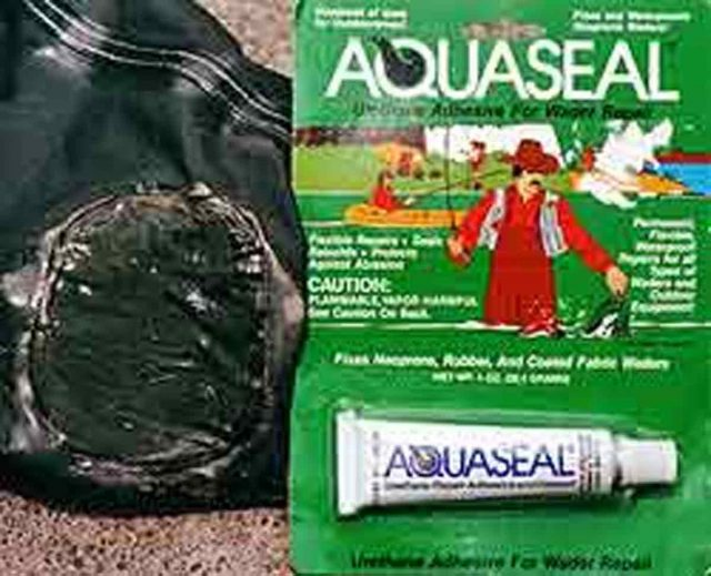 An inexpensive tube of Aquaseal will keep you old waders going a few years longer!