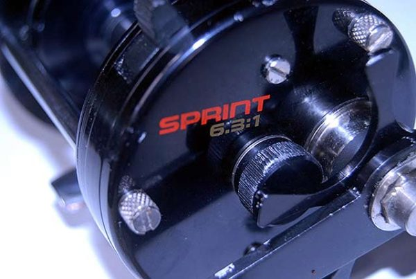 Abu Garcia Ambassadeur Seven Sprint is a handsome looking bait-caster reel.