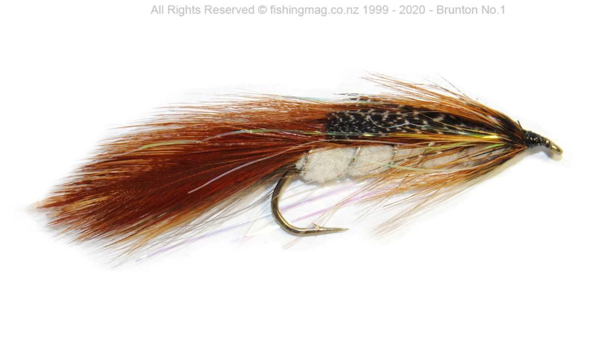 Brunton no.1 Canterbury sea-run trout lure.