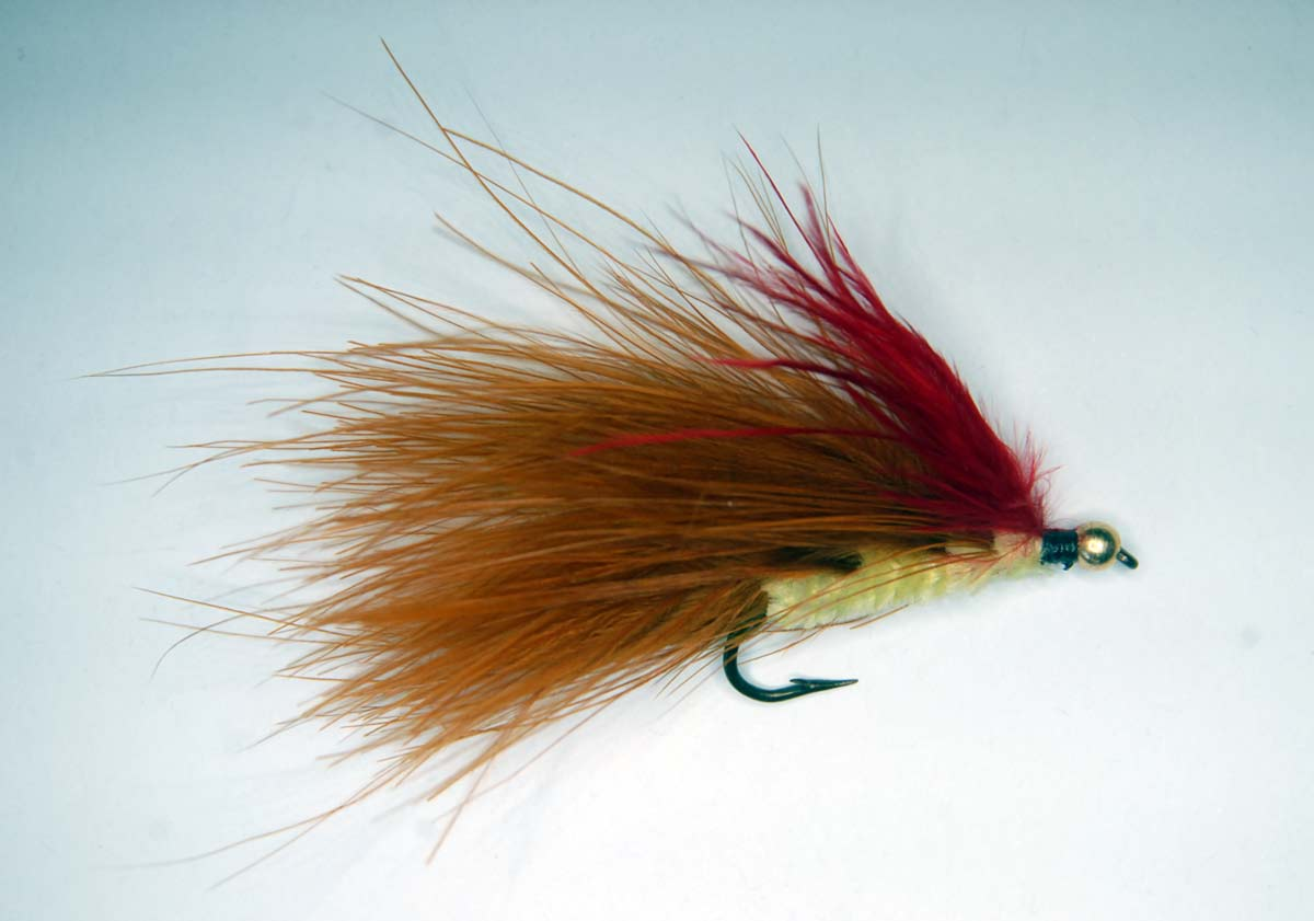 Dick's Haemorrhoid trout streamer fly.