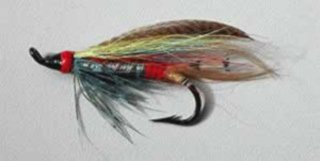 Typical early English style salmon fly seldom seen today.