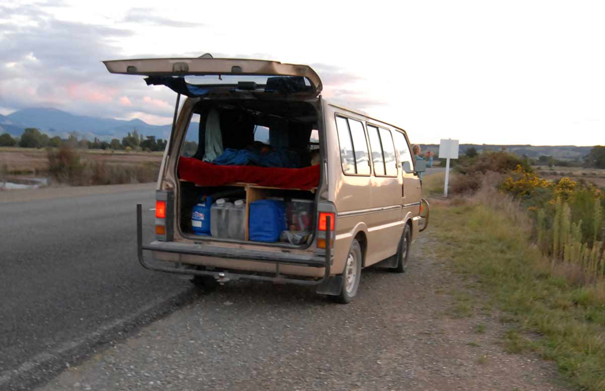 A van with a bed in the back greatly extends your range to fish much further from home with a reasonable level of comfort.