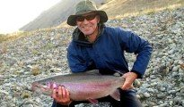 Warren Kemp 8kg rainbow trout featured