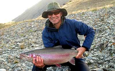 Warren Kemp 8kg rainbow trout featured
