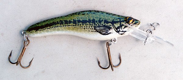 Fingerling Hi-Catch made by Luhr Jensen.