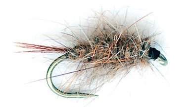Hare and Copper nymph trout fly