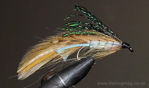 Hopes Silvery trout fly or lure. This is the standard day fly version.