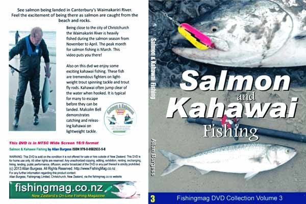 Salmon and Kahawai Fishing