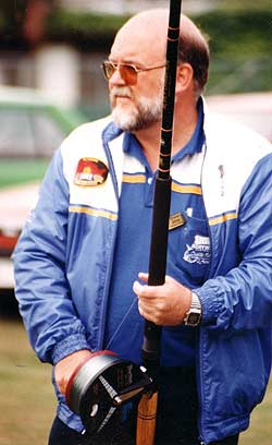 Bruce Alvey. Alvey surfcasting reels.