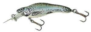 Fingerling in rainbow trout colour scheme. Fingerling Hi-Catch