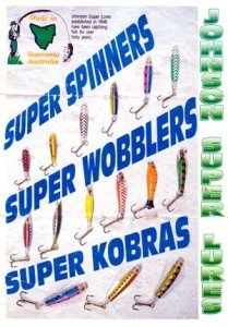 Johnson Super Lures brochure.