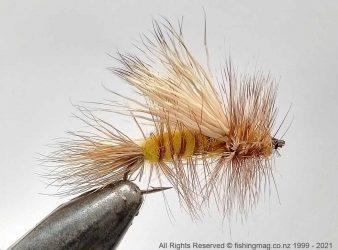 Randall Kauffman Stimulator fly tied by John Hey
