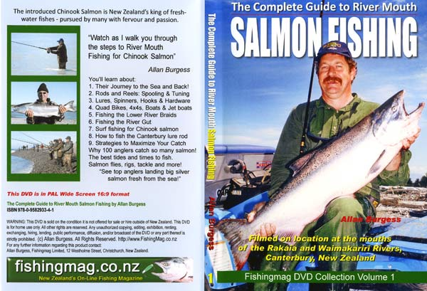 Salmon Fishing DVD cover