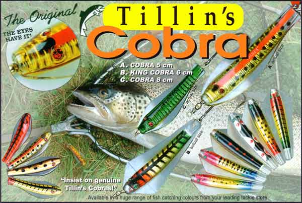 Tillins Cobra lures