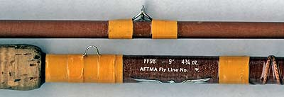 Fenwick Feralite fibre-glass fly rod.
