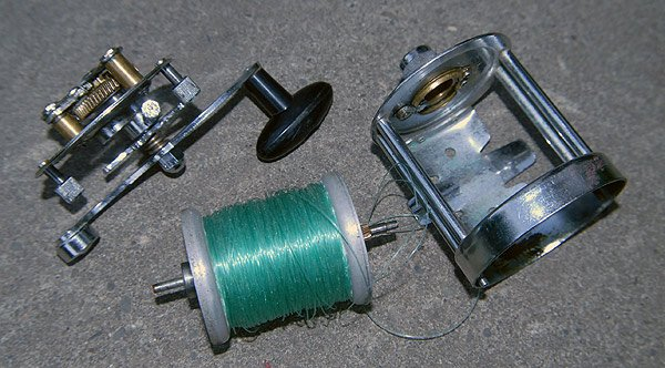 Seascape freespool reel was made in Australia.