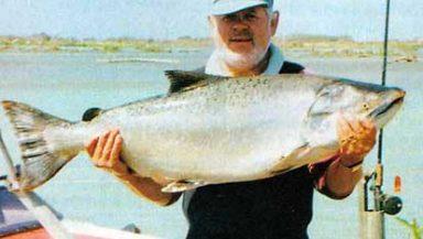 Keith Reinke featured image. Waitaki River Salmon Fishing.
