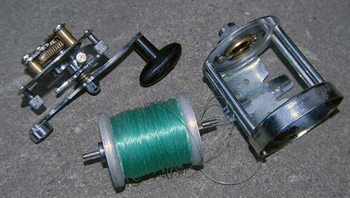 This old Seascape was a great reel and I caught many fish with it.