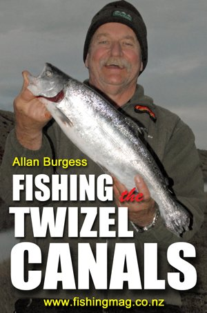 Fishing the Twizel Canals by Allan Burgess