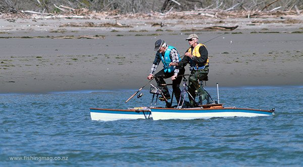 These intrepid salmon anglers