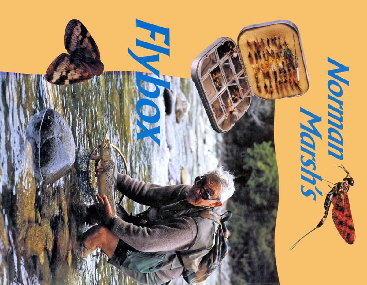 Norman Marsh's Fly Box by Norman Marsh.