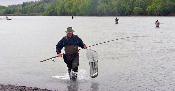 Sea-run trout fishing in the Waimakariri River centers around the area downstream from the State Highway One bridge. This is about 5km from the river-mouth where the river level is still effected by tidal influence.