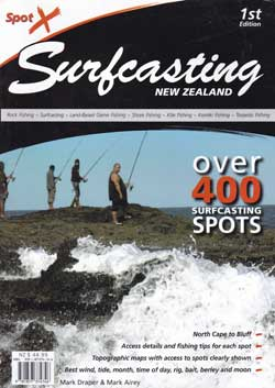 Spot X Surfcasting New Zealand by Mark Draper.